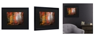 """Trademark Global Philippe Sainte-Laudy Wildly Red Matted Framed Art - 15"""" x 20"""""""