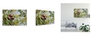 "Trademark Global Lois Bryan Apple Picking Time Canvas Art - 20"" x 25"""