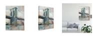 "Trademark Global Ethan Harper Contemporary Bridge II Canvas Art - 20"" x 25"""