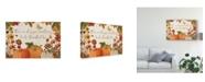 """Trademark Global Katie Pertiet Fall Garden I Canvas Art - 37"""" x 49"""""""