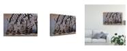 "Trademark Global Pip Mcgarry Thirsty Work Canvas Art - 20"" x 25"""