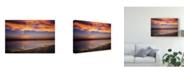 "Trademark Global Pixie Pics Orange Coast Canvas Art - 20"" x 25"""