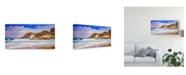 "Trademark Global Pixie Pics Sand Under Clouds V Canvas Art - 20"" x 25"""