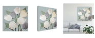 "Trademark Global Jade Reynolds French Tulips I Canvas Art - 15"" x 20"""