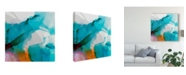 "Trademark Global Sisa Jasper La Abstract II Canvas Art - 27"" x 33"""
