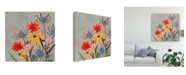 "Trademark Global Victoria Borges Thistle Bouquet I Canvas Art - 15"" x 20"""