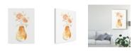 "Trademark Global June Erica Vess Blossom Pop Study II Canvas Art - 20"" x 25"""