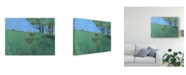 "Trademark Global Paul Bailey Token Trees Three Canvas Art - 37"" x 49"""