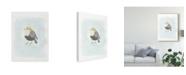 """Trademark Global June Erica Vess Dapper Bird II Canvas Art - 15"""" x 20"""""""