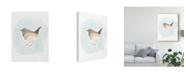 """Trademark Global June Erica Vess Dapper Bird IV Canvas Art - 20"""" x 25"""""""