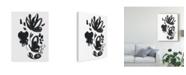 "Trademark Global June Erica Vess Cameo Bloom IV Canvas Art - 15"" x 20"""