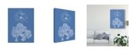 """Trademark Global Vision Studio Seaweed Cyanotype III Canvas Art - 15"""" x 20"""""""