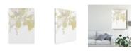 "Trademark Global June Erica Vess Viridis III Canvas Art - 20"" x 25"""
