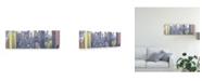 "Trademark Global Jeff Pica Pastel NYC Panorama Canvas Art - 20"" x 25"""