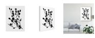 "Trademark Global Melissa Wang Expressive Floral I Canvas Art - 20"" x 25"""