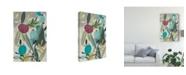 "Trademark Global June Erica Vess Tropicana Panel I Canvas Art - 20"" x 25"""