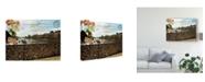"Trademark Global Sandy Lloyd Postcards of Paris VIII Canvas Art - 20"" x 25"""