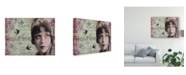 """Trademark Global Sandy Lloyd Femme Paris XII Canvas Art - 20"""" x 25"""""""