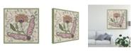 "Trademark Global Melissa Wang Chintz Composition I Canvas Art - 15"" x 20"""