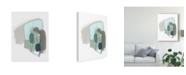 "Trademark Global June Erica Vess Coda VII Canvas Art - 37"" x 49"""
