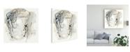 "Trademark Global June Erica Vess Monochrome Diaspora II Canvas Art - 15"" x 20"""