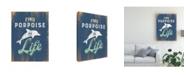 "Trademark Global Jj Brando Punny Coastal I Canvas Art - 20"" x 25"""
