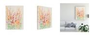 "Trademark Global Tim Otoole Brilliant Floral I Canvas Art - 20"" x 25"""