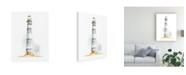 "Trademark Global Regina Moore Ocean Beacon IV Canvas Art - 37"" x 49"""