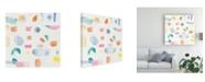 "Trademark Global Piper Rhue Joy Abstract Canvas Art - 15"" x 20"""