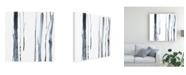 "Trademark Global Jennifer Goldberger Snow Line VIII Canvas Art - 15"" x 20"""