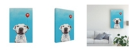 "Trademark Global Victoria Coleman Party Dog V Canvas Art - 20"" x 25"""