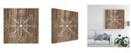 "Trademark Global June Erica Vess Barnwood Wonderland I Canvas Art - 27"" x 33"""
