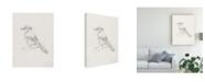 "Trademark Global Ethan Harper Avian Study IV Canvas Art - 20"" x 25"""