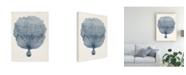 "Trademark Global Vision Studio Coastal Collection in Indigo VI Canvas Art - 37"" x 49"""