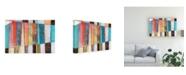 "Trademark Global Jodi Fuchs Rhythm and Hues I Canvas Art - 20"" x 25"""