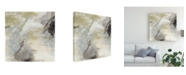 "Trademark Global June Erica Vess Abstract Vista I Canvas Art - 15"" x 20"""