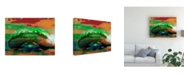 "Trademark Global Sisa Jasper The Bean, Chicago Canvas Art - 37"" x 49"""