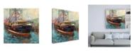 "Trademark Global Jeanette Vertentes Barbara Ann Canvas Art - 15.5"" x 21"""