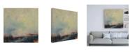 "Trademark Global Patrick Dennis Burnout Canvas Art - 19.5"" x 26"""