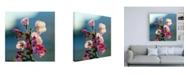 "Trademark Global Mitch Catanzaro Cherry Blossom Blurred Canvas Art - 19.5"" x 26"""
