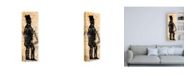 """Trademark Global Roderick Stevens Lincoln Tall Canvas Art - 15.5"""" x 21"""""""