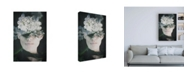 "Trademark Global PhotoINC Studio Lonely Flowers Canvas Art - 27"" x 33.5"""