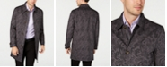 Tasso Elba Men's Printed Paisley Top Coat, Created for Macy's