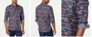 American Rag Men's Camo Grindle Shirt, Created for Macy's