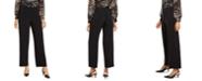 Alfani Petite Knit Wide-Leg Pant, Created for Macy's