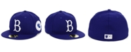 New Era Brooklyn Dodgers World Series Patch 59FIFTY Fitted Cap