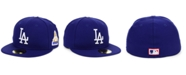 New Era Los Angeles Dodgers World Series Patch 59FIFTY Fitted Cap