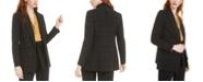 Bar III Faux-Double-Breasted Windowpane-Print Jacket, Created for Macy's
