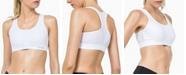 Yvette Mesh Insert Sports Bra Medium Impact Support