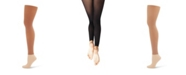 Capezio Little and Big Girls Hold and Stretch Footless Tight